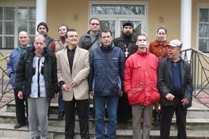 Настоятель столичного храму Північного вікаріатства відвідав Пуща-Водицький психоневрологічний диспансер
