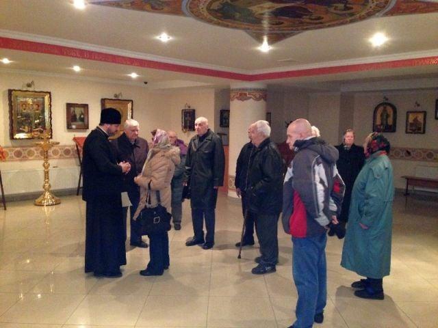 В храме Северного киевского викариатства состоялась встреча благочинного с ветеранами Великой Отечественной войны
