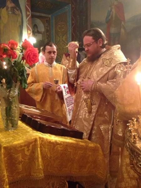 Єпископ Боярський Феодосій звершив всенічне бдіння напередодні Неділі 27-ої по П'ятидесятниці