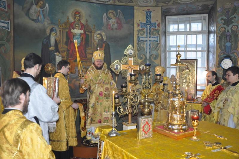 Єпископ Боярський Феодосій звершив Літургію в Неділю 27-у після П'ятидесятниці