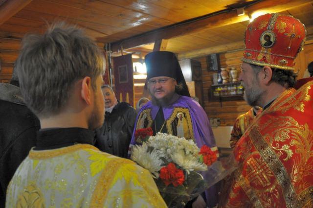 Епископ Боярский Феодосий совершил богослужение в день памяти святой великомученицы Екатерины