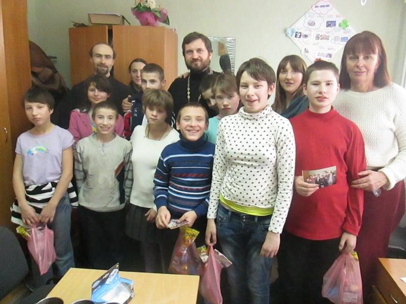 Відбулася волонтерська поїздка київських парафій в школу-інтернат