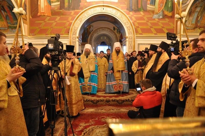 Єпископ Боярський Феодосій взяв участь у молебні про примноження любові в Києво-Печерській Лаврі