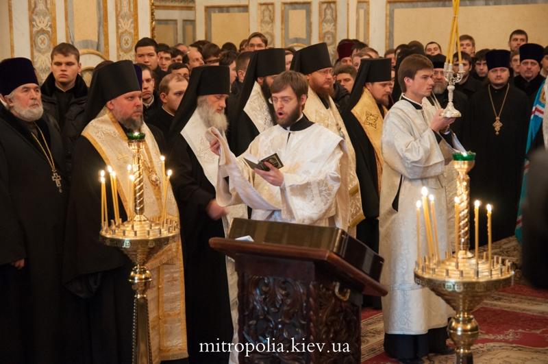 Управляющий Северным викариатством столицы епископ Боярский Феодосий принял участие в молебне по случаю Дня Соборности Украины