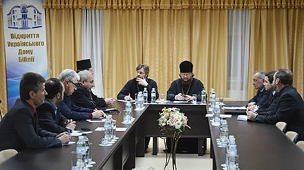 З благословення Предстоятеля УПЦ єпископ Боярський Феодосій очолив консультативну зустріч Ради Церков України щодо зупинення кровопролиття та сприяння виходу з кризи