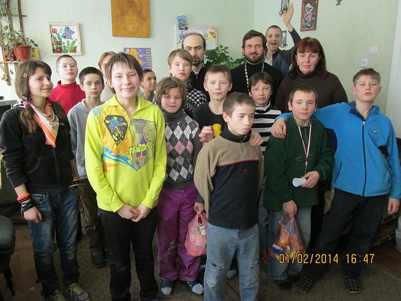 Відбулася спільна поїздка кліриків та волонтерів двох храмів м.Києва в Бердичівську школу-інтернат