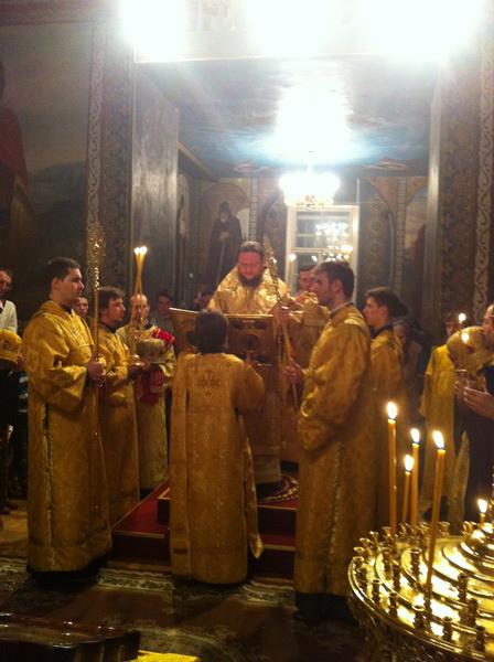 Єпископ Боярський Феодосій звершив всенічне бдіння напередодні Прощеної Неділі