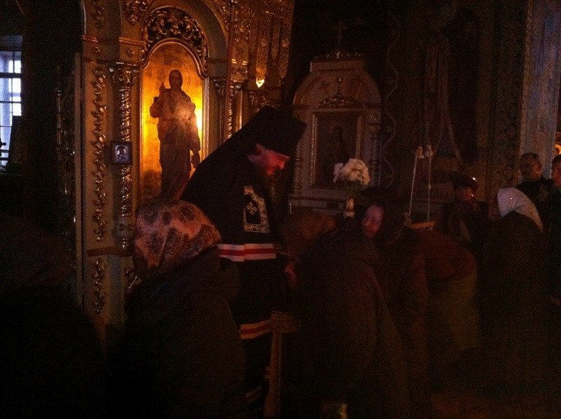 Єпископ Боярський Феодосій звершив Чин прощення