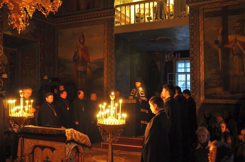 Єпископ Боярський Феодосій звершив читання Великого покаянного канону у співслужінні духовенства Подільського району столиці