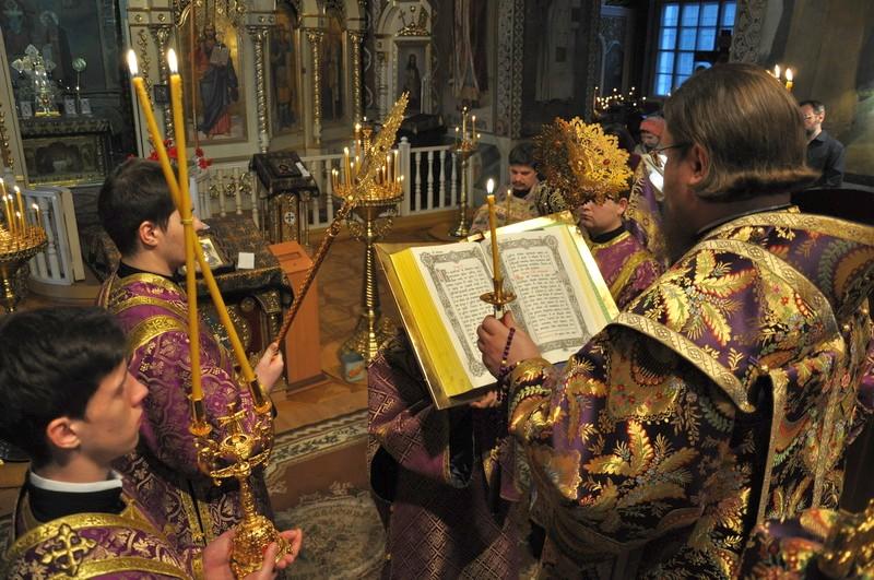 Єпископ Боярський Феодосій звершив всенічне бдіння напередодні Неділі 4-ї Великого посту