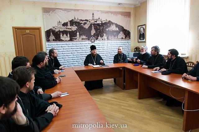 Відбулося зібрання духовенства Шевченківського району м.Києва