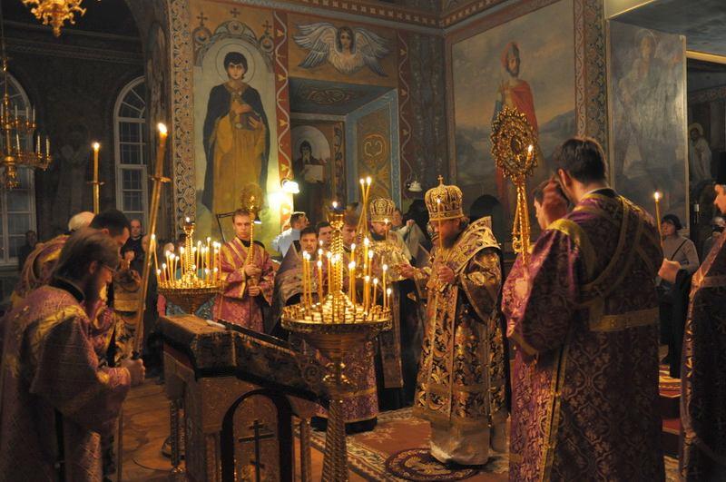 Єпископ Боярський Феодосій звершив всенічне бдіння напередодні Неділі Торжества Православ'я
