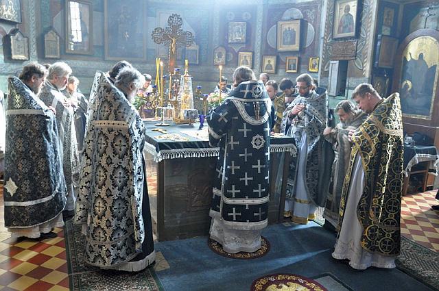 Анонс служінь Керуючого Північним київським вікаріатством архієпископа Феодосія на 1-й седмиці Великого посту