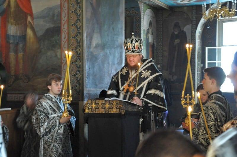 Єпископ Боярський Феодосій очолив утреню з читанням Великого покаянного канону