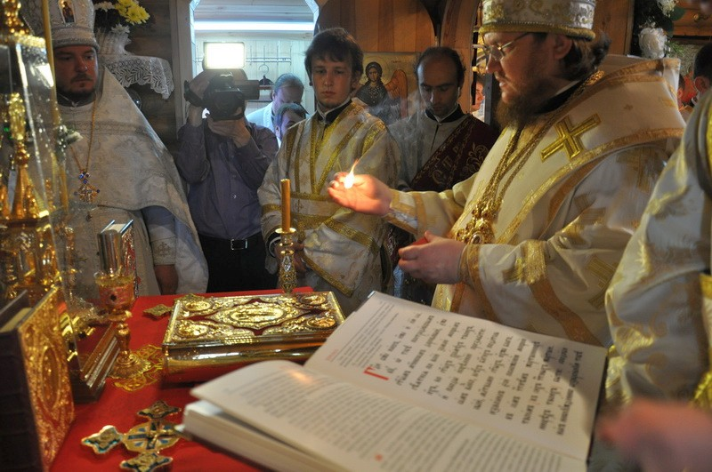 Єпископ Боярський Феодосій звершив Велике освячення храму на Лісовому кладовищі м.Києва