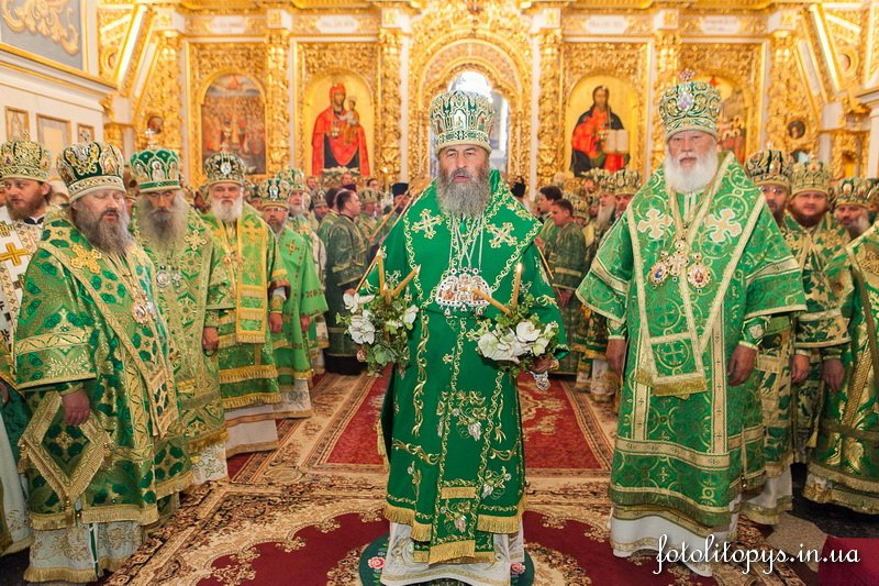 Управляющий Северным киевским викариатством епископ Боярский Феодосий сослужил местоблюстителю Киевской митрополичьей кафедры