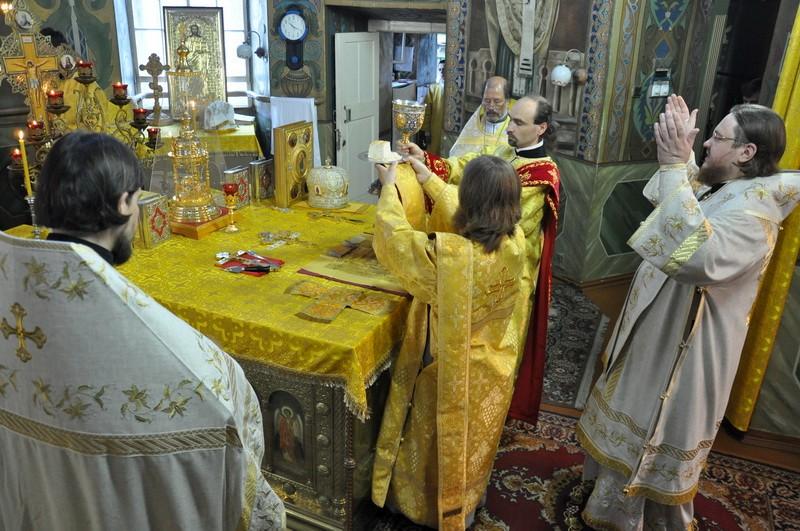 Єпископ Боярський Феодосій звершив Літургію в Неділю 8-у після П'ятидесятниці