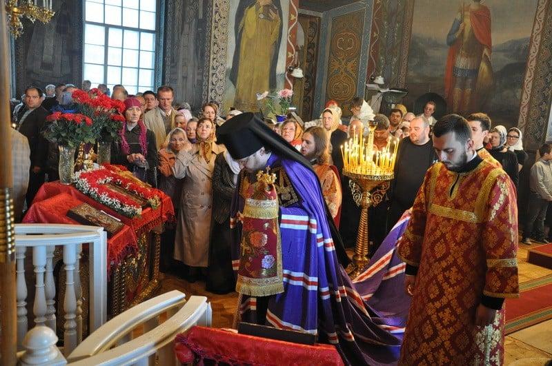 Приход Крестовоздвиженского храма в г.Киеве отметил престольный праздник