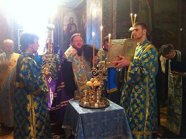 Єпископ Боярський Феодосій звершив всенічне бдіння напередодні свята Різдва Пресвятої Богородиці