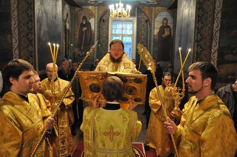 Єпископ Боярський Феодосій звершив всенічне бдіння напередодні Неділі 18-ї після П'ятидесятниці