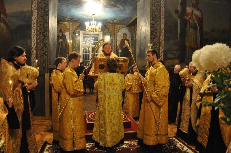 Єпископ Боярський Феодосій звершив всенічне бдіння напередодні Неділі 24-ї після П'ятидесятниці