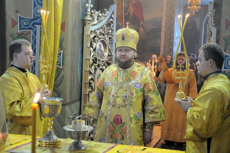 Єпископ Боярський Феодосій звершив Літургію в Неділю 25-у після П'ятидесятниці