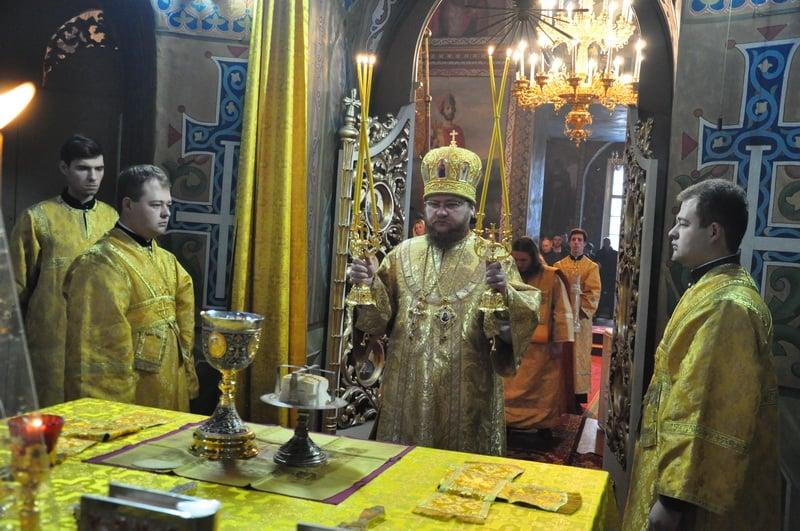 Єпископ Боярський Феодосій звершив Літургію в Неділю 21-шу після П'ятидесятниці
