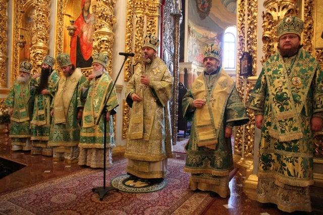 Епископ Боярский Феодосий принял участие в Литургии и торжествах по случаю дня памяти прп.Нестора Летописца