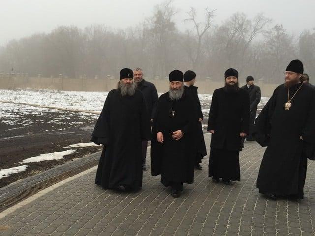 Блаженніший Митрополит Онуфрій у супроводі вікаріїв Київської Митрополії відвідав скит Києво-Печерської Лаври
