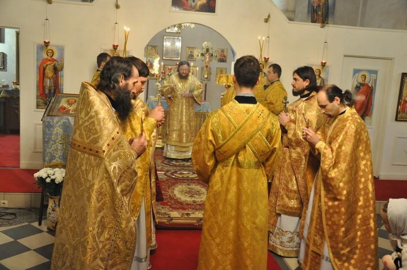 Александро-Невский приход при Введенском храме на Подоле отметил день Небесного покровителя