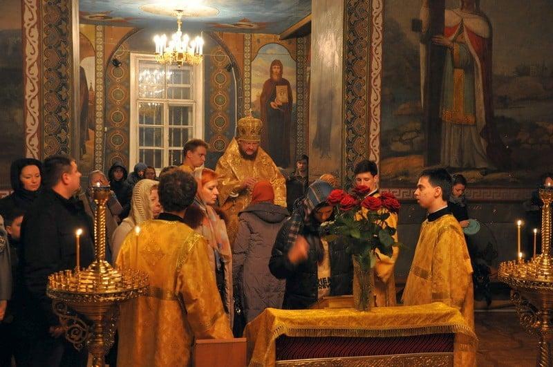 Єпископ Боярський Феодосій звершив всенічне бдіння напередодні Неділі про митаря і фарисея