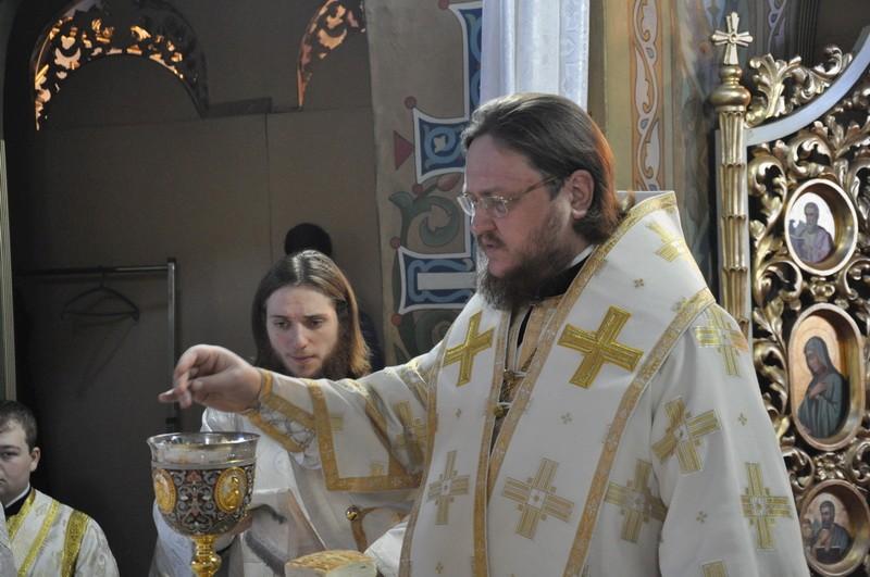 Епископ Боярский Феодосий совершил Литургию в Неделю 31-ю по Пятидесятнице, по Рождестве Христовом