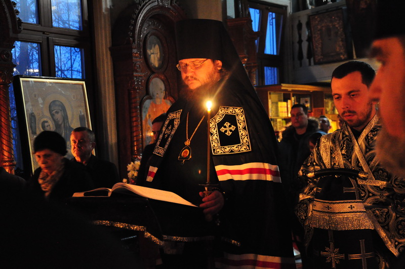 Єпископ Боярський Феодосій звершив читання Великого покаянного канону у співслужінні духовенства Шевченківського району столиці