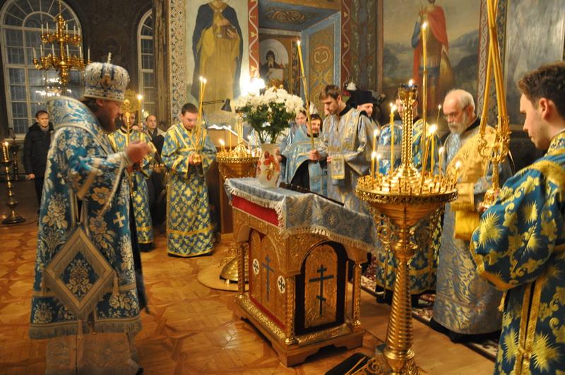 Єпископ Боярський Феодосій звершив всенічне бдіння напередодні свята Стрітення