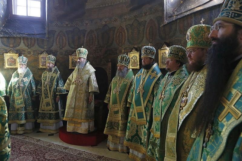 Єпископ Боярський Феодосій співслужив Предстоятелю УПЦ в Києво-Печерській Лаврі