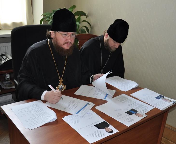В Київській Митрополії відбувся ставленицький іспит для кандидатів на висвячення у священний сан