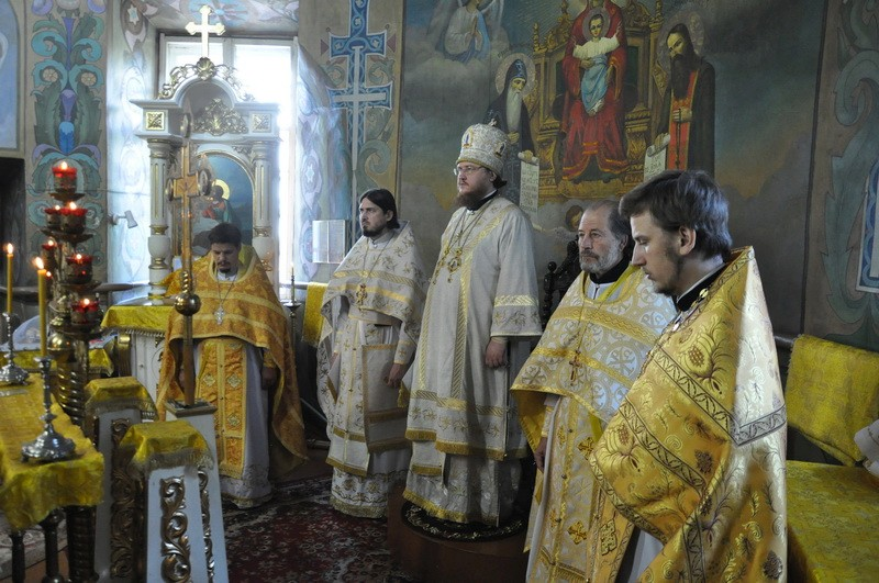 Єпископ Боярський Феодосій звершив Літургію в Неділю 3-ю після П'ятидесятниці