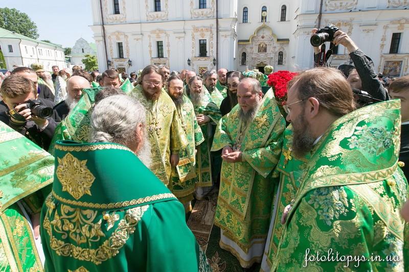 Управляющий Северным киевским викариатством епископ Боярский Феодосий принял участие в поздравлении Блаженнейшего Митрополита Онуфрия с Днем тезоименитства