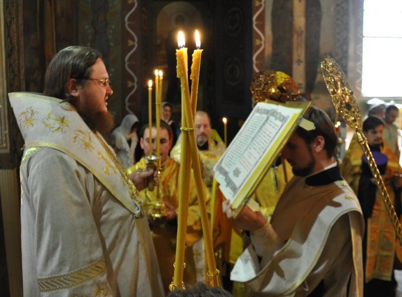 Єпископ Боярський Феодосій звершив всенічне бдіння напередодні Неділі 11-ї після П'ятидесятниці
