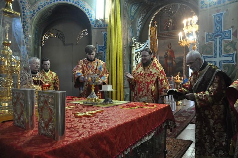 Єпископ Боярський Феодосій звершив Літургію в Неділю 9-ю після П'ятидесятниці