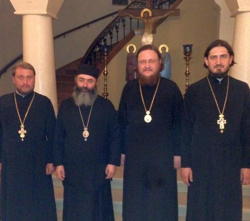 Епископ Боярский Феодосий встретился с иерархами Кипрской Православной Церкви