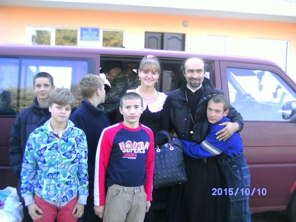 Відбулася спільна поїздка клірика Північного вікаріатства та волонтерів ліцею м.Києва в Бердичівську школу-інтернат