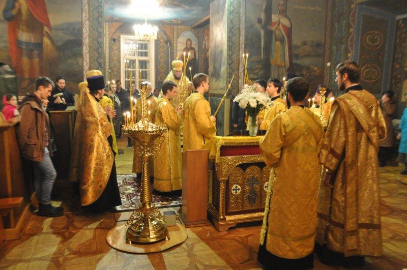 Єпископ Боярський Феодосій звершив всенічне бдіння напередодні Неділі 23-ї після П'ятидесятниці