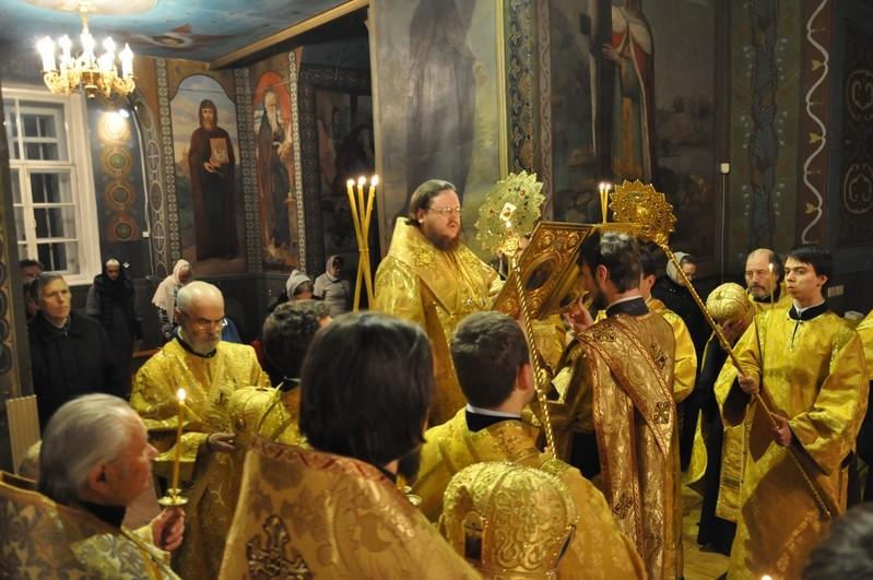 Єпископ Боярський Феодосій звершив всенічне бдіння напередодні Неділі 25-ї після П'ятидесятниці