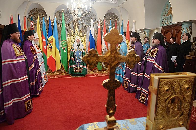 Епископ Боярский Феодосий принял участие в чине наречения во епископов в Тронном зале Храма Христа Спасителя