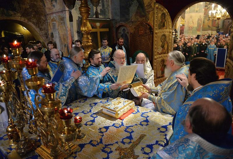 Єпископ Боярський Феодосій взяв участь у Патріаршій літургії і висвяченні єпископа Серафима Таруського