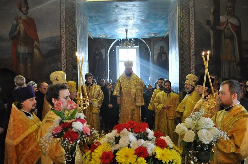 Старейший клирик Киевской епархии молитвенно отметил День Ангела