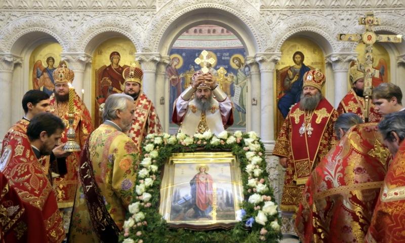 Предстоятель УПЦ звершив Літургію у храмі Північного київського вікаріатства