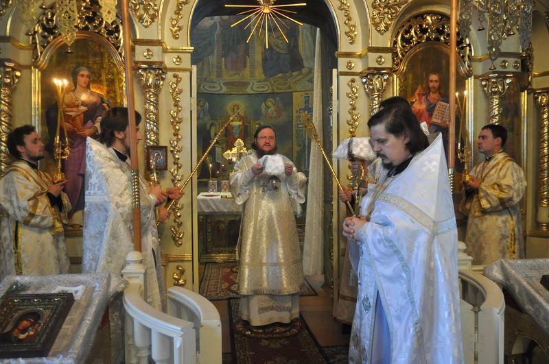 Єпископ Боярський Феодосій звершив Літургію в Неділю 33-ю після П'ятидесятниці (ОНОВЛЕНО)