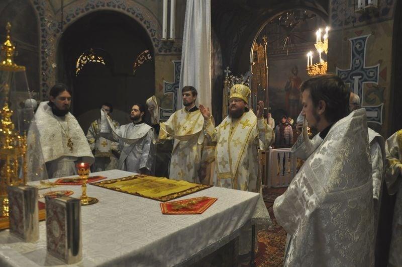 Єпископ Боярський Феодосій звершив Божественну літургію в день Обрізання Господнього